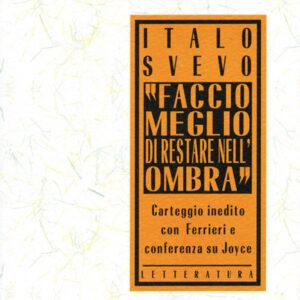 FACCIO MEGLIO DI RESTARE NELL'OMBRA-0